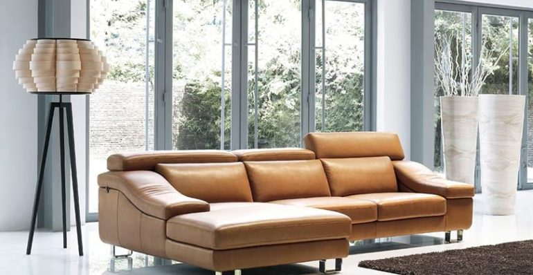 Israel Luxury Leather Sofa